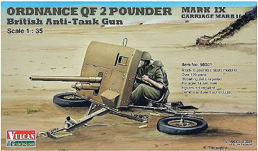 1:35 UK Antitank Gun