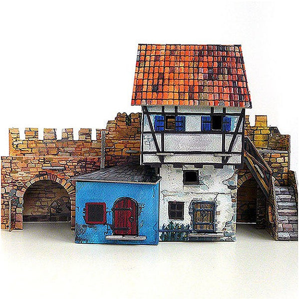 Medieval House Wall Paper Kit