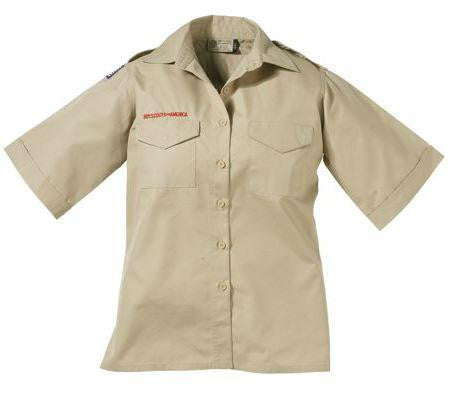 Centennial Boy Scout™ Ladies Fit Short-Sleeve Poplin Uniform Shirts