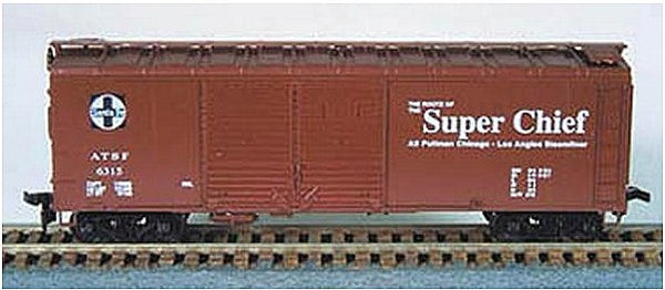 HO 40' DD Boxcar SF Kit