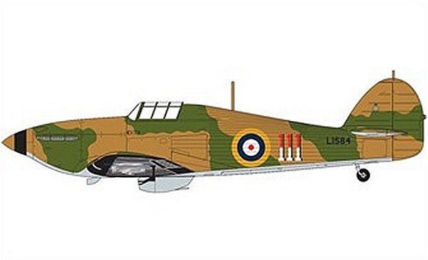 1:72 UK Hawker Hurricane MkI  - A02067