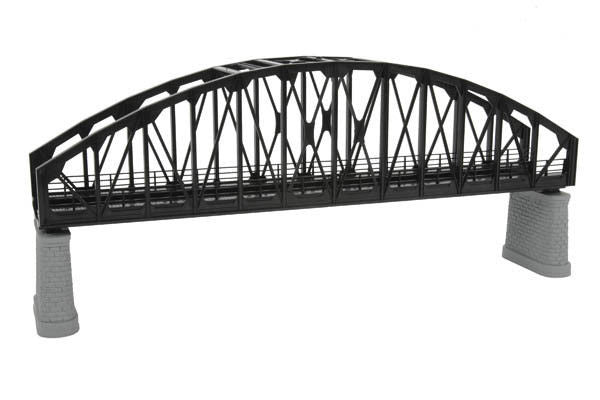 HO Arch Bridge Kit Black