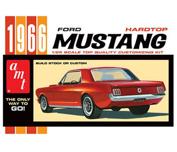 1:25 '66 Ford Mustang