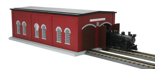 O Dual Engine Shed