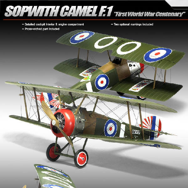 1:32 UK Spowith Camel F.1