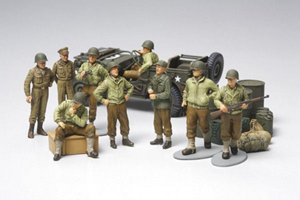 1:48 USA Infantry at Rest Set
