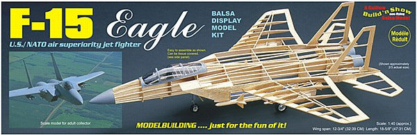 1:40 USA F-15 Eagle Balsa