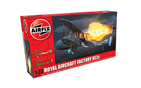 1:72 Royal Aircraft Factory BE2c - Night Fighter - A02101
