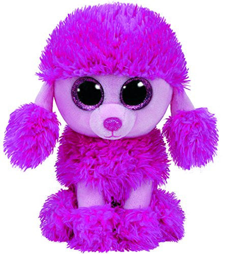 Ty Beanie Boos PATSY Pink Poodle Dog 6""