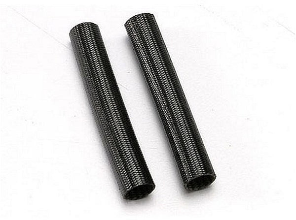 Black heat shield tubing