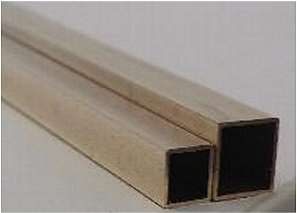 Brass Square Tube 1/8""