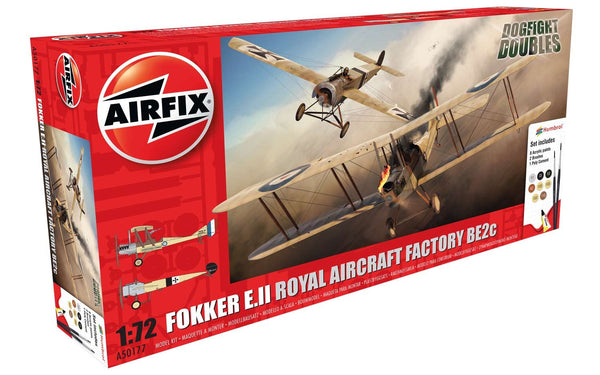 1:72 Fokker E.II/BE2C Dogfight Doubles Gift Set - A50177