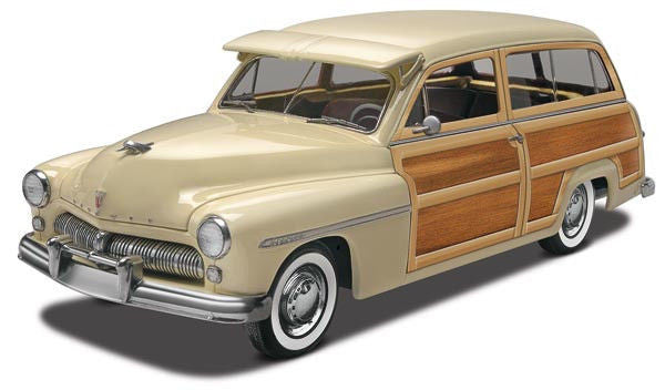 1:25 '49 Mercury Wagon