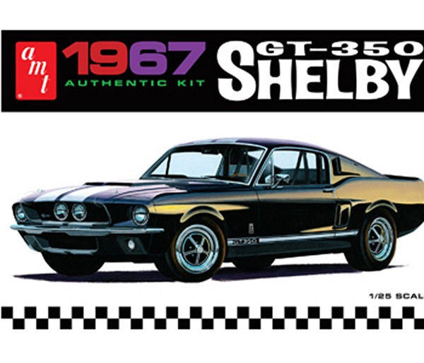 1:25 '67 Shelby GT350 White