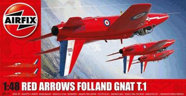 1:48 Red Arrows Gnat -  A05124