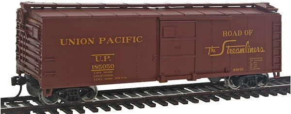 HO 40' Steel Boxcar UP