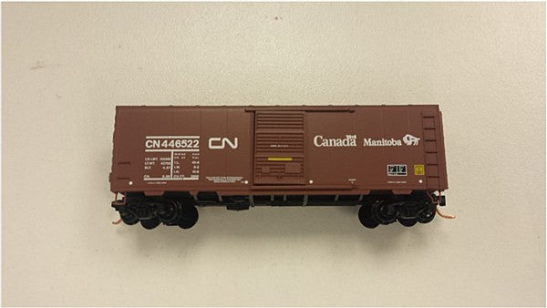 N 40' Single Door Box Car CN