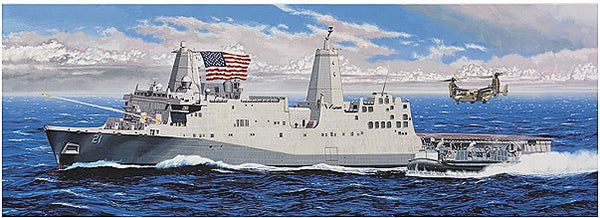 1:350 USS New York Transport
