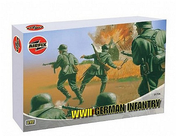 1:72 German WWII Infantry – A01705