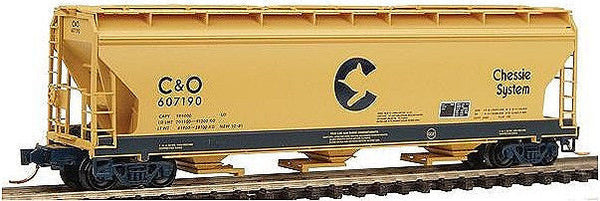 N 3-Bay ACF Hopper CS/C&O