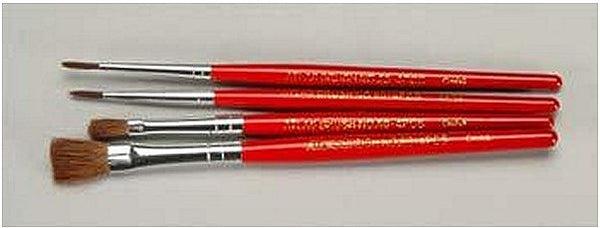 Red Sable Brushes Set