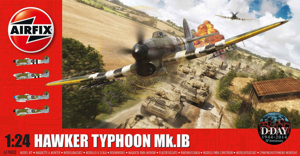 1:24 UK Hawker Typhoon MKIB -  A19002