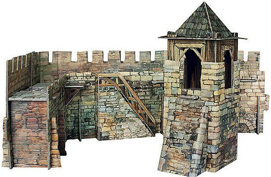 Medieval Fort Wall Paper Kit
