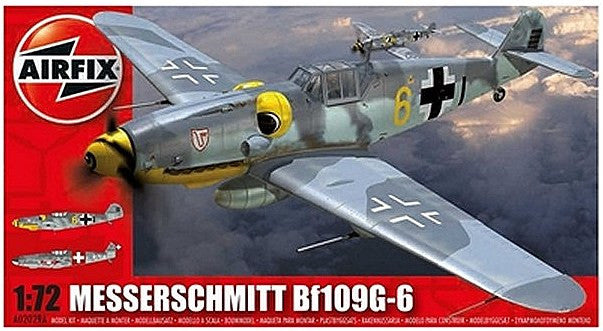 1:72 GER Bf109G-6 -  A02029A