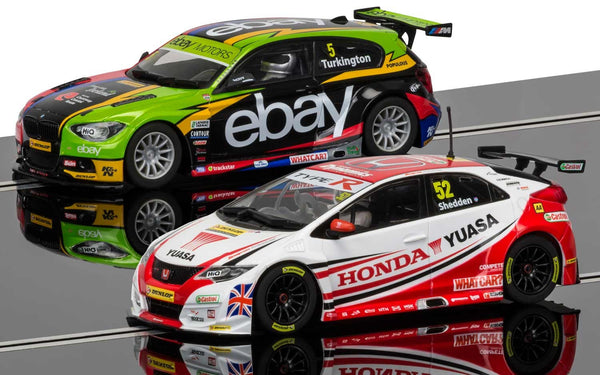 BTCC Champions Twin Pack - BMW 125 Series 1 & Honda Civic - C3694