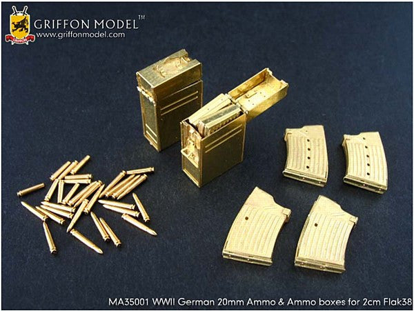 1:35 GER Ammo Boxes