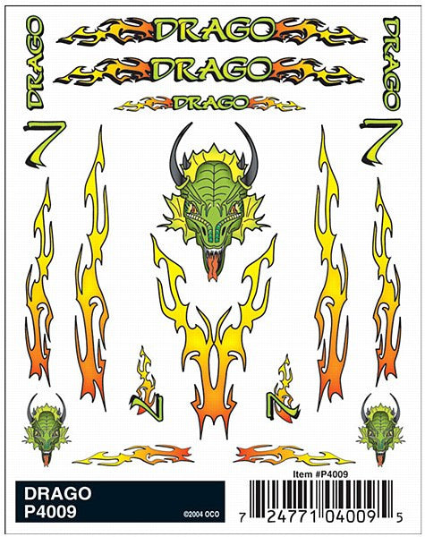 Drago Dry Transfer Decals