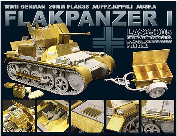 1:35 GER Flakpanzer Detail Kit