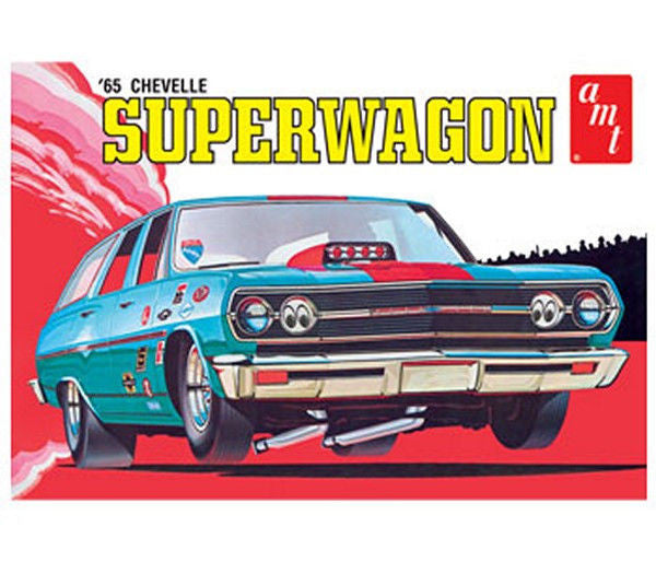 1:25 '65 Chevy Chevelle Wagon