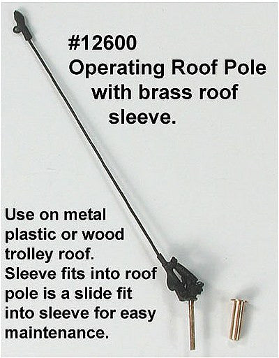 HO Operating Roof Pole