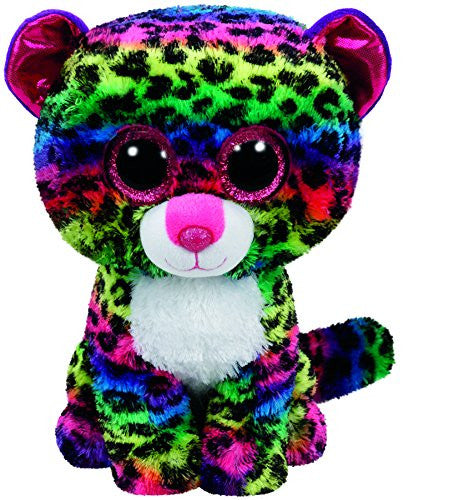 Ty Dotty Leopard Plush, Multicolor, Regular