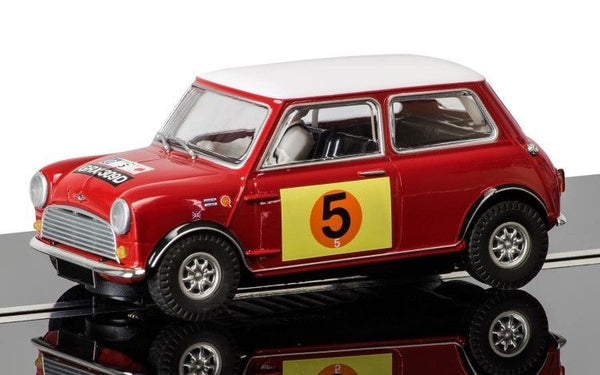 1/32 SCALEXTRIC C3747 Mini Cooper S - RAC Rally 1966 Slot Car