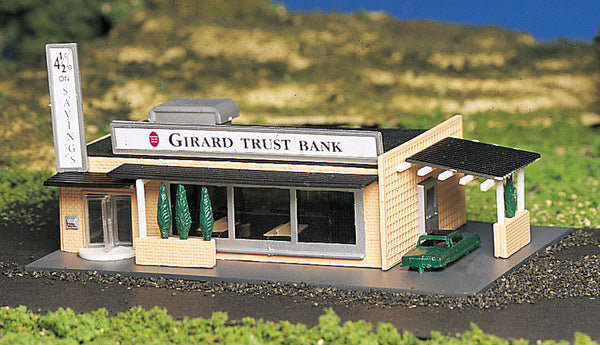 Bachmann 45804 N Drive-In Bank w/Figures