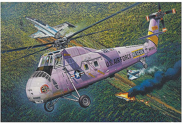 1:48 USA HH-34J Helicopter