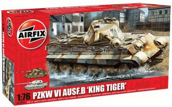 1:76 GER King Tiger Tank - A03310