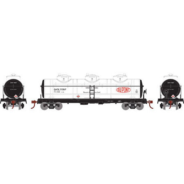 HO 3-Dome Tank Car DuPont