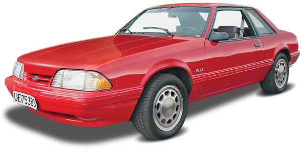 1:25 '90 Ford Mustang XL 5.0