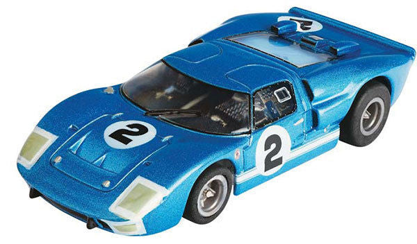 AFX GT40 #2 Sebring Collector Series HO Slot Car