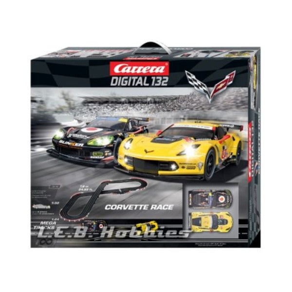 Carrera Corvette Race Set, Digital 1/32 30186