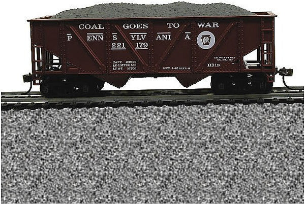 HO 36' Hopper with Coal PRR
