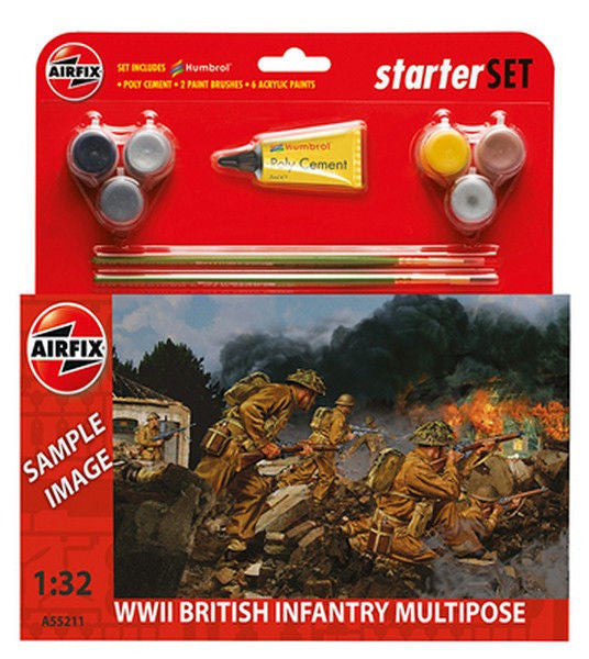 1:32 UK WWII Infantry Set - A55211