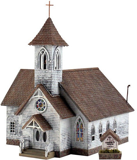 HO Country Church Kit
