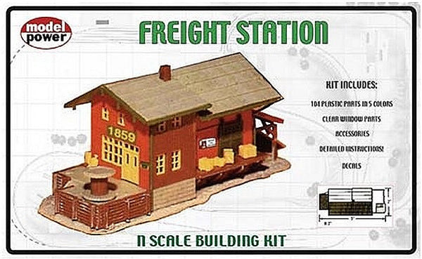N Freight Station Kit