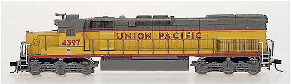 N SD40T-2 UP #4397