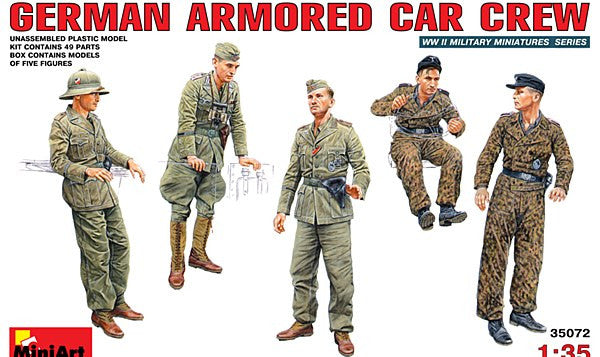 1:35 GER Armored Car Crew