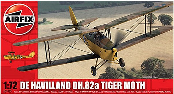 1:72 UK DH.82a Tiger Moth -  A01025